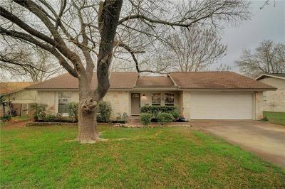 Round Rock Single Family Home Pending - Taking Backups: 905 Stillhouse Spg