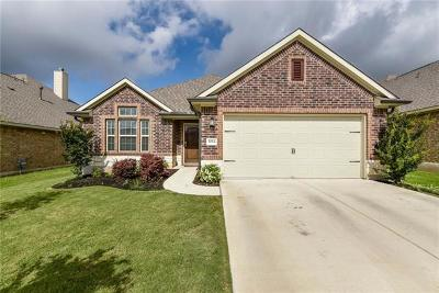 Round Rock Single Family Home For Sale: 8084 Bassano Dr