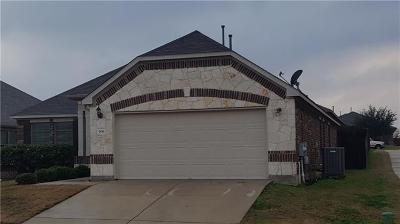 Buda Single Family Home Pending - Taking Backups: 506 Hot Spring Vly