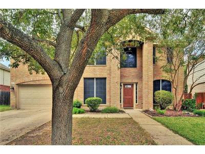 Round Rock Single Family Home For Sale: 2403 Cloud Peak Ln