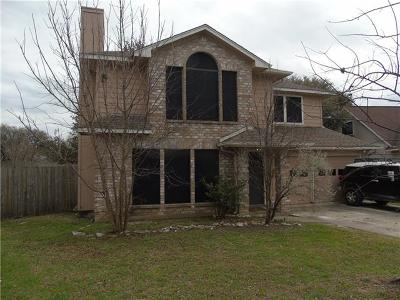 Leander Single Family Home Pending - Taking Backups: 2512 Kathleen Cv