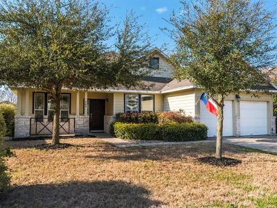 Hutto Single Family Home For Sale: 209 Holmstrom St