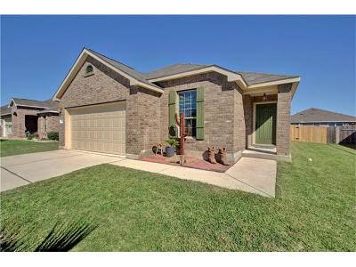 Hutto Single Family Home For Sale: 222 Wells Bnd