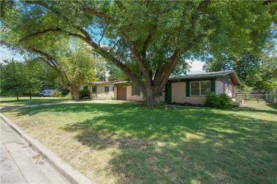 Travis County Single Family Home Pending - Taking Backups: 1402 Larkwood Dr