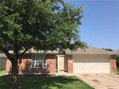 Hutto Single Family Home For Sale: 4002 Kerley Ct