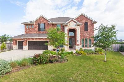 Leander Single Family Home Pending - Taking Backups: 2801 Mossy Springs Dr