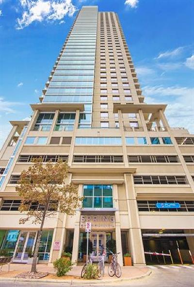 Spring Condo Amd Condo/Townhouse For Sale: 300 Bowie St #903