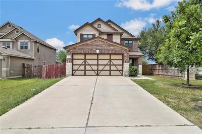 Kyle Single Family Home For Sale: 110 Clover Cv