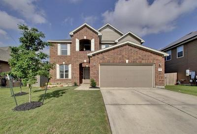 Round Rock Single Family Home For Sale: 6140 Mantalcino Dr