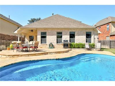 Round Rock Single Family Home Pending - Taking Backups: 2435 Salorn Way