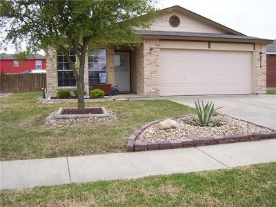 Killeen Single Family Home For Sale: 2316 Maedell Dr
