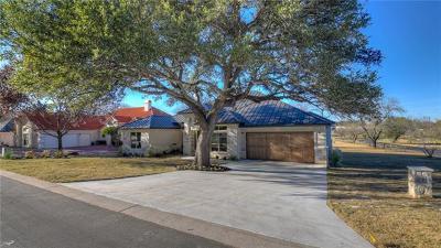 Horseshoe Bay Single Family Home For Sale: 500 Hi Circle South