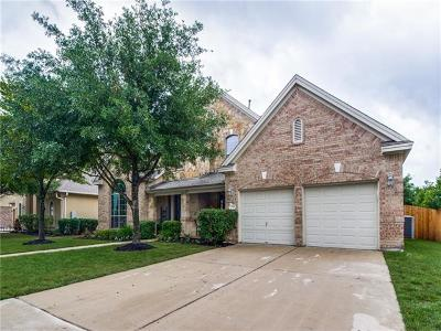 Round Rock Single Family Home Pending - Taking Backups: 3545 Citrine Pl