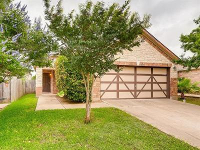 Del Valle Single Family Home For Sale: 5600 Sunday Silence Dr