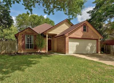 Leander Single Family Home For Sale: 14916 Snelling Dr