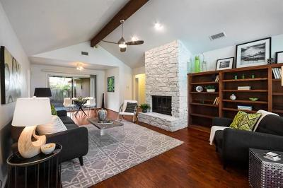 Austin Condo/Townhouse For Sale: 8803 Honeysuckle Trl #B