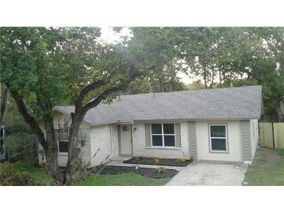 Travis County Single Family Home For Sale: 1618 Chippeway Ln