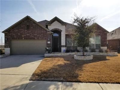 Hutto Single Family Home For Sale: 132 Emory Fields Dr