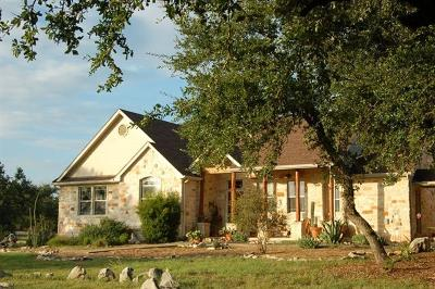 Spicewood Single Family Home For Sale: 2504 Improver Rd