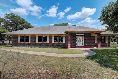 Burnet County Single Family Home Active Contingent: 316 Main St