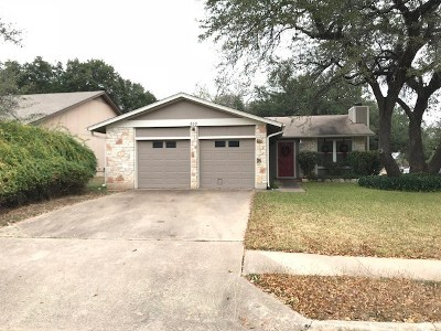 Cedar Park Single Family Home Pending - Taking Backups: 610 Twin Oak Trl