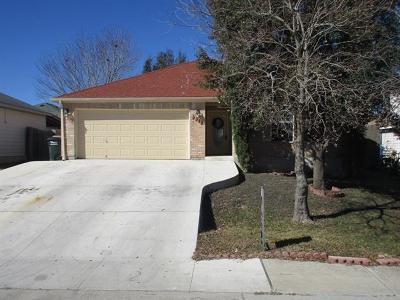 San Marcos Single Family Home Pending - Taking Backups: 1140 Hilltop Dr