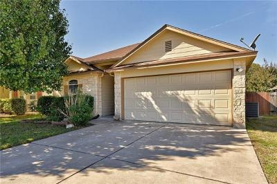 Hutto Single Family Home For Sale: 115 Towan Way