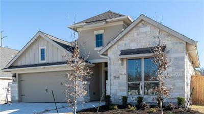 Manor Single Family Home For Sale: 16409 Christina Garza Dr