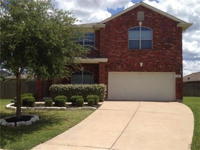 Leander Single Family Home For Sale: 103 Oakland Cv