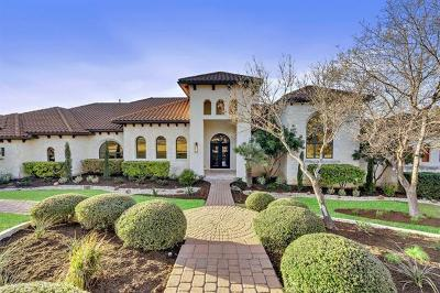 Single Family Home For Sale: 916 Barton Creek Blvd