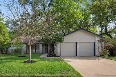 Austin Single Family Home Pending - Taking Backups: 11107 Alhambra Dr