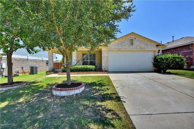 Pflugerville Single Family Home For Sale: 1009 Peppermint Trl