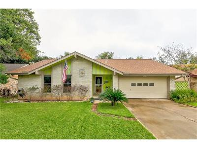 Travis County, Williamson County Single Family Home For Sale: 12103 Scissortail Dr
