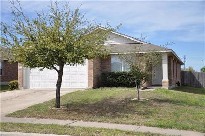Leander Single Family Home For Sale: 1015 Remington Dr