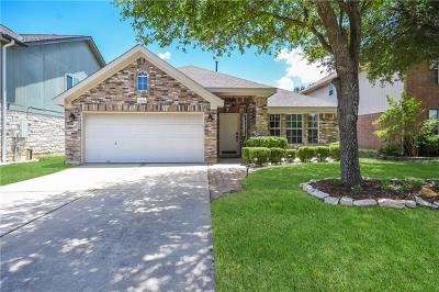 Round Rock Single Family Home For Sale: 3604 Windhill Loop
