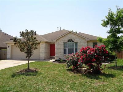 Leander Single Family Home For Sale: 1010 Rutherford Dr