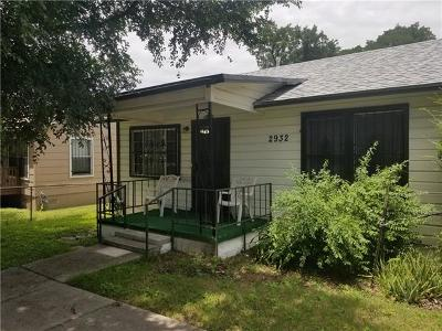 Austin Single Family Home For Sale: 2932 E 13th St
