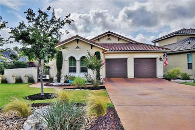 Leander Single Family Home Pending - Taking Backups: 1800 Cantina Sky
