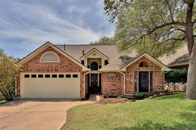 Travis County, Williamson County Single Family Home Pending - Taking Backups: 10904 Sierra Oaks