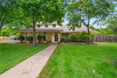 Round Rock Single Family Home For Sale: 2803 Carmel Dr