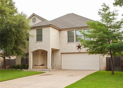 Cedar Park Single Family Home Pending - Taking Backups: 1116 Del Roy Dr