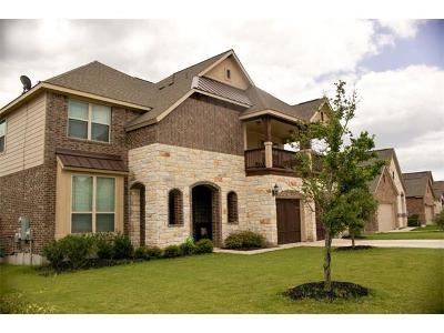 Pflugerville Single Family Home Active Contingent: 19717 Cerridwen Dr
