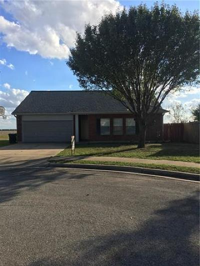 Hutto Single Family Home Active Contingent: 104 Bluejay Cv