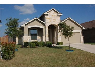 Williamson County Single Family Home Active Contingent: 205 Geode Ln