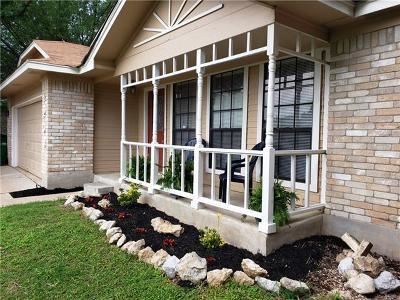 Round Rock Single Family Home Pending - Taking Backups: 1204 Ferndale Dr