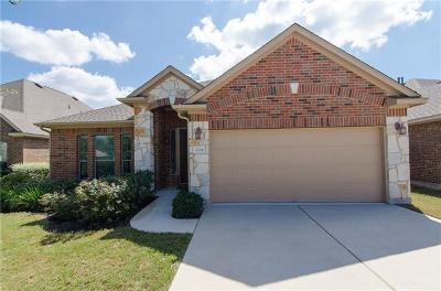Leander Single Family Home For Sale: 2224 Lookout Range Dr