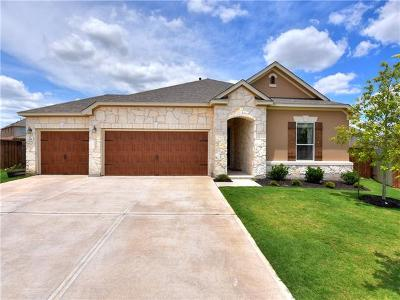 Leander Single Family Home For Sale: 1201 Ravenside Cv
