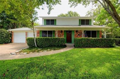 Austin Single Family Home For Sale: 7301 Hartnell Dr