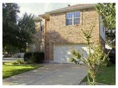 Round Rock Rental For Rent: 8501 Chat Ln