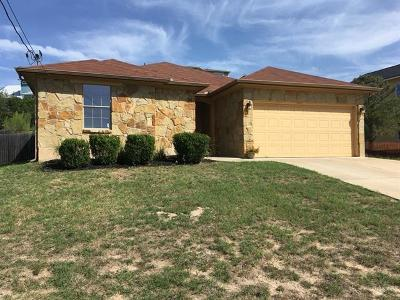 Spicewood Single Family Home Pending - Taking Backups: 714 Newport Dr
